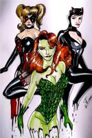 The 3 most dangerous and sexiest villians by samrogers