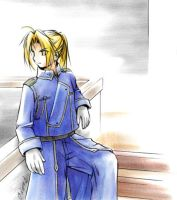 FMA :: Military Edward by waterlilly