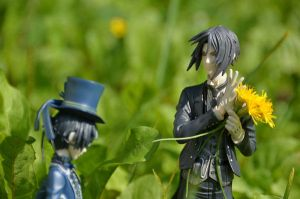 Flowers for Ciel by GrellindaChikage
