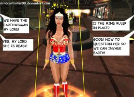 Wonder Woman's UFO Abduction by The-Mind-Controller