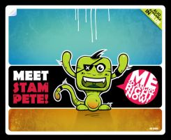 Stam Pete by Branieman