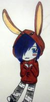 Jay's Bunny Hoodie by brandy422