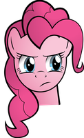 Pinkie Does Not Approve by The-Crusius
