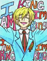the stupid king of the host Club by HugAttack4JesusXD