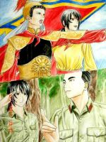 Vietnam and two generals by hanakoofthejungle