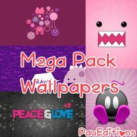 Mega Pack Wallpapers by PauEditionsOfficial