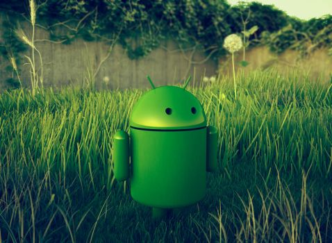 Android Outside by jesse