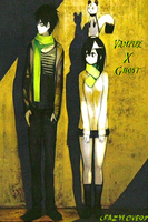 Vampire x Ghost (BLOOD LAD) by CrAzYLove97