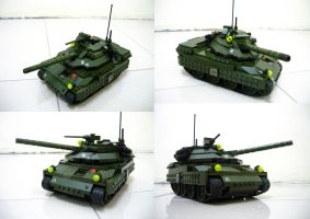 Lego APC to Tank!! (5.1) by SOS101