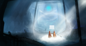 Journey Fan Art -SpeedPaint- by CarlosArthur