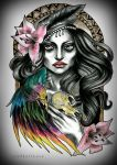 TATTOO DESIGN commissioned work by MWeiss-Art