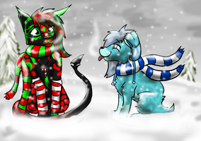 Merry and Frost by Nachturia