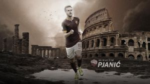 Miralem Pjanic 2015/16 Wallpaper by RakaGFX