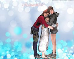 Group Hug by residentevil42005