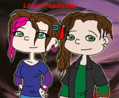 AGU_Phil and Lil DeVille by Louy7