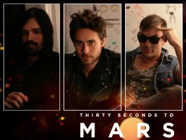 30 Seconds to Mars Wall 196 by martiansoldier