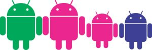 ANDROID ROBOT Family by patomite