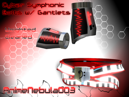 Cyber Symphonic Belt w-Gantlets - AN003 by AnimeNebula003