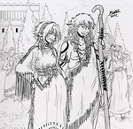 Wild Elven Marriage by Shabazik