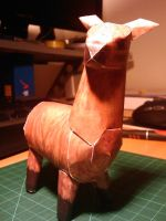Papercraft Llama complete 1 by ValecHax
