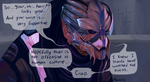Garrus by StapledSlut