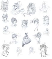 Gaia Sketches by dreamangelkristi