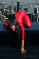 Spider-Woman by oldmacman