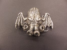 Cthulhu belt buckle by Trapjaw