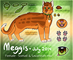 Meggis ref. 2014 (new) by MeggisWolf