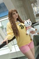 Bee and Puppycat by Squibbers