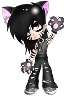 Ashley the Purdy Kitty by XxsilvixX