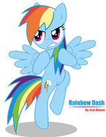 Rainbow Dash Vector Lv. 1 by JcosNeverExisted