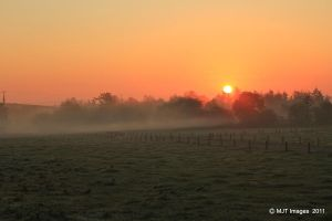 Autumn Sunrise 3 by MichaelJTopley