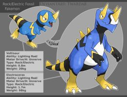 Fakemon: Electric Fossils by Twarda8
