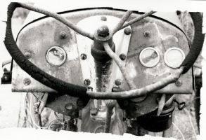 Tractor Wheel by sacredspace