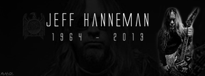 InThe Memory of Slayer's Jeff Hanneman 1964 - 2013 by KINGMEZOARTS