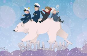 Bear, Polar by Sempaiko