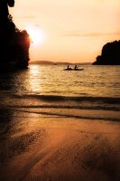 Kayak Sunset by annamarcella24