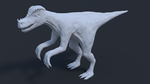 dinosaur type thing by YourGodLucifer