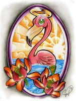 Flamingo color by WillemXSM