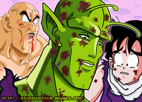 Handsome Piccolo by KazemaruHeishi