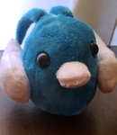 [SOLD] Swablu Birb Plushie by Sloth-Adopts