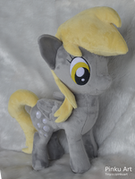 Derpy Hooves plush by PinkuArt