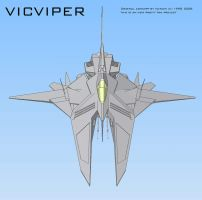 vicViper CAD screen 3 by 4-X-S