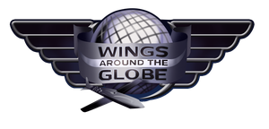 Wings Around the Globe Logo by Aileen-Rose