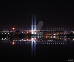 Bolte Bridge at Night by evan-p