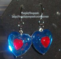 Heart Piece LOZ Earrings by CosplayPropsEtc
