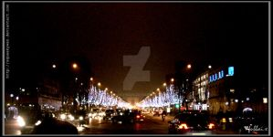 Avenue des Champs-Elysees by SqueakyWan