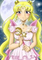 SM: Sailor Princess Serenity by samiikinns