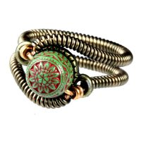Steampunk Ring J by CatherinetteRings
